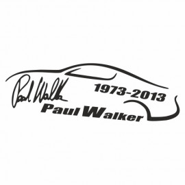 Paul Walker Unterschrift outline