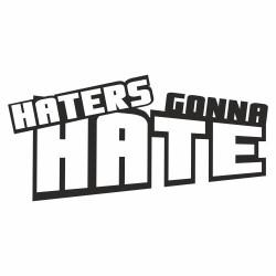 Hater gonna hate modern