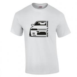 Nissan Skyline R32 GTR Outline Modern
