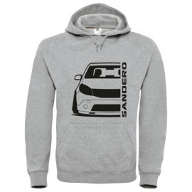 Dacia Sandero 2008 outline Modern Hoodie