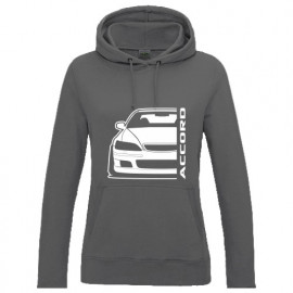 Honda Accord Type R CH1  Outline Modern Lady Hoodie