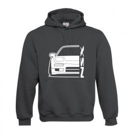 Honda NSX NA1 Outline Modern Hoodie