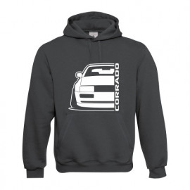 VW Corrado Outline Modern Hoodie