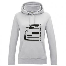 VW Corrado Outline Modern Hoodie Lady