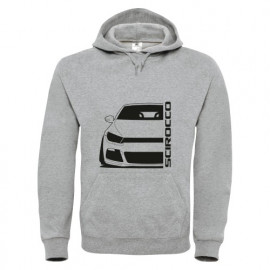 VW Scirocco Facelift Mk3 2008-2014 Typ 13 R Hoodie