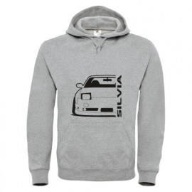 Nissan Silvia S13 240SX Outline Modern Hoodie