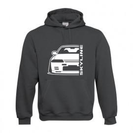 Nissan Skyline R32 GTR Outline Modern Hoodie