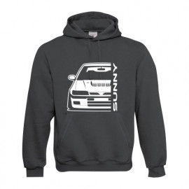 Nissan Sunny GTI-R Outline Modern Hoodie