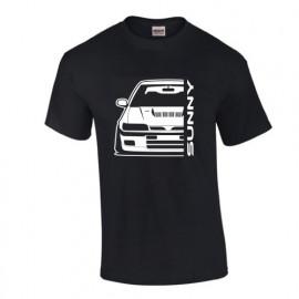 Nissan Sunny GTI-R Outline Modern T-Shirt