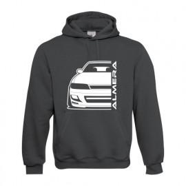 Nissan Almera N 15 topsport Outline Modern Hoodiern Hoodie