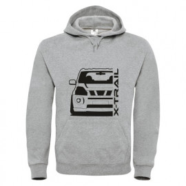 Nissan X-Trail T31 Outline Modern Hoodie