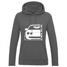 Toyota Celica AT200, ST202 -95 Outline Modern Hoodie Lady