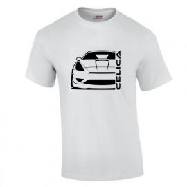 Toyota Celica T23 Facelift Outline Modern T-Shirt