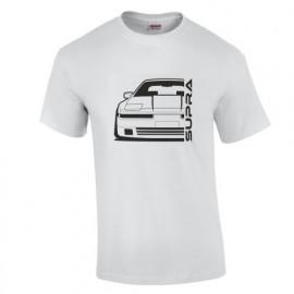 Toyota Supra MK3 Outline Modern T-Shirt