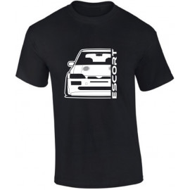 Ford Escort MK5 Cosworth Outline Modern T-Shirt