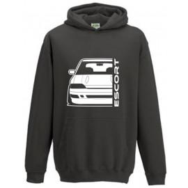 Ford Escort MK5 Rs2000 Outline Modern Hoodie