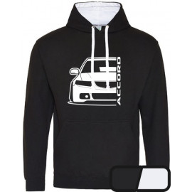 Honda Accord CL  Outline Modern Hoodie Varsity