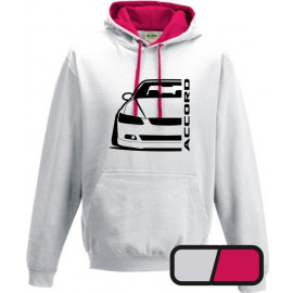 Honda Accord CL7  Outline Modern Hoodie Varsity