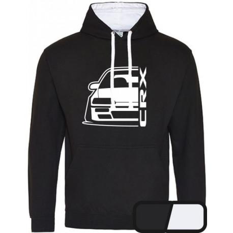 Honda Crx ED9 Outline Modern Hoodie Varsity