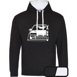 Honda Crx EE8 Outline Modern Hoodie Varsity