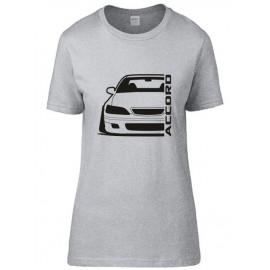 Honda Accord CG 8 Outline Modern T-Shirt Lady