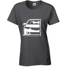 Honda Accord CU 2 Outline Modern T-Shirt Lady