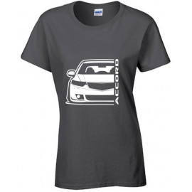 Honda Accord CW Tourer Outline Modern T-Shirt Lady
