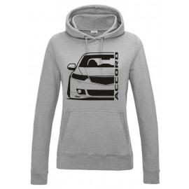 Honda Accord CU2 Outline Modern Lady Hoodie