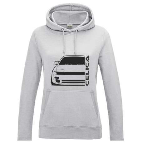 Toyota Celica T18 Outline Modern T-Shirt Hoodie Lady