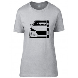 Hyundai I30 GD GDH 2011-2017 Outline Modern T-Shirt Lady