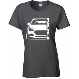 Hyundai I30N Modern Outline T-Shirt Lady