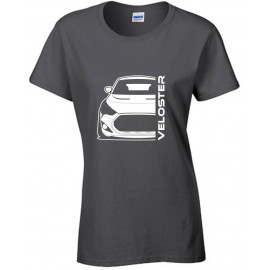 Hyundai Veloster FS Turbo Bj 2013 Modern Outline T-Shirt Lady