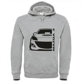 Mazda 3BL MPS Outline Modern Hoodie