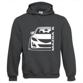 Mazda 6GH Outline Modern Hoodie