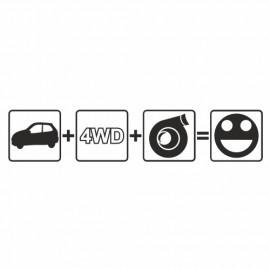 Auto (plus) 4WD (plus) Turbo (gleich) Fun