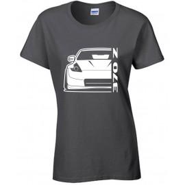 Nissan 2014 370Z Nismo  Outline Modern T-Shirt Lady