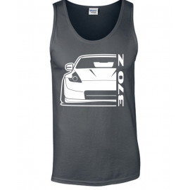 Nissan 2014 370Z Nismo Outline Modern Tank Top
