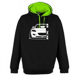 Mazda RX8 R Outline Modern Hoodie Varsity