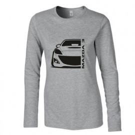 Mazda 3BL MPS Outline Modern Longsleeve Lady