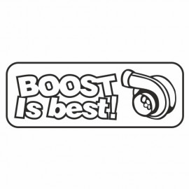 Boost is Best