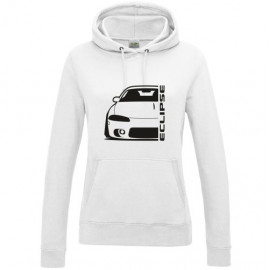 Mitsubishi Eclipse D30 Outline Modern Hoodie Lady