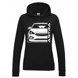 Opel Astra K Modern Outline Hoodie Lady