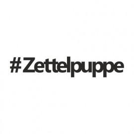 Zettelpuppe (Hashtag)