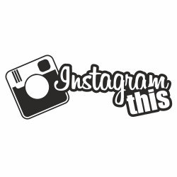 Instagram this