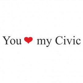 You love my Civic