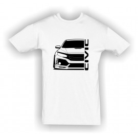 Honda Civic Type R 2017 Outline Modern