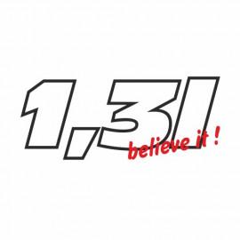1.3L Believe it